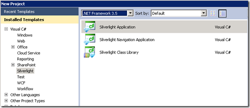 Develop a Sandboxed Silverlight 3.0 Web part for SharePoint 2010 (2/6)